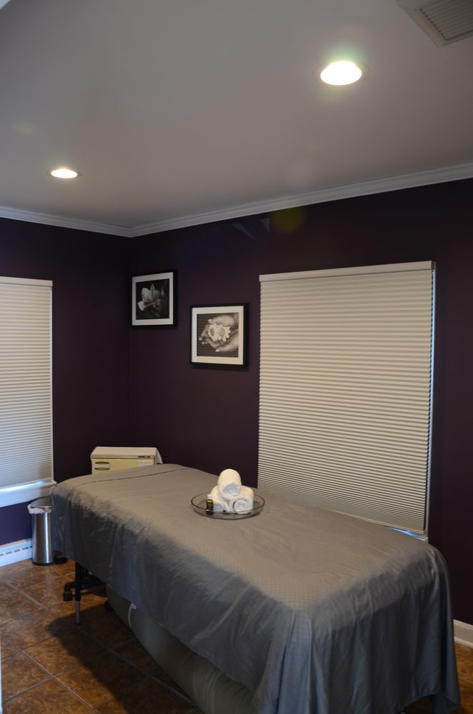 Purple treatment room